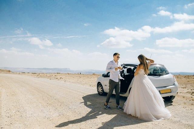 חתן וכלה במדבר