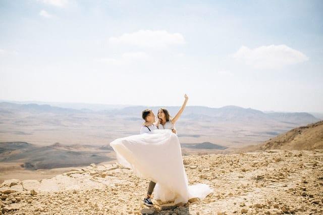 חתונה אזרחית בחול