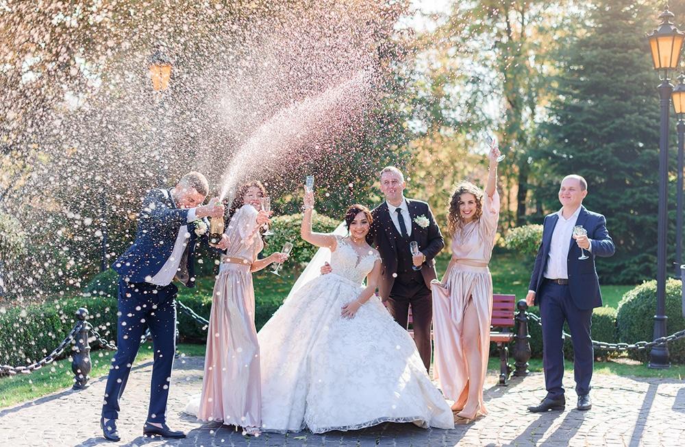 חתונה בפארק