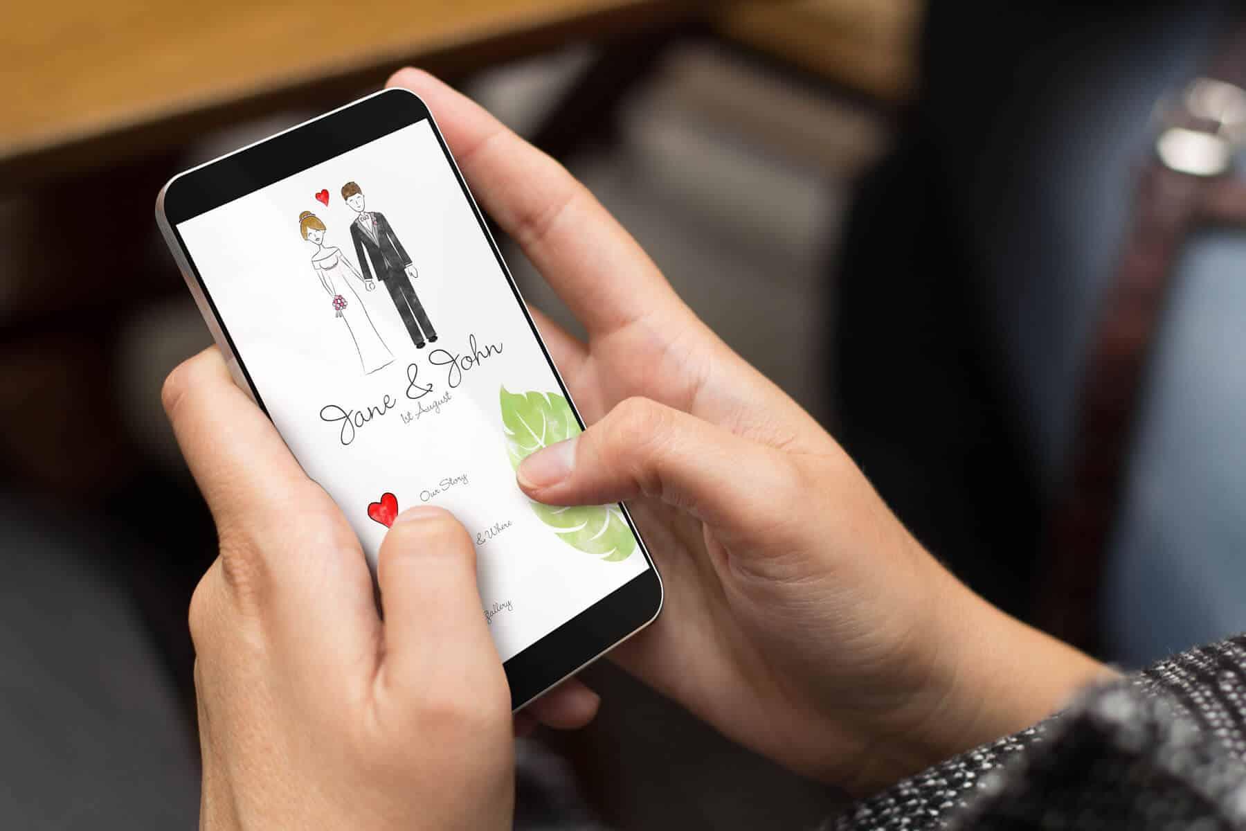 אפליקציה לארגון חתונה