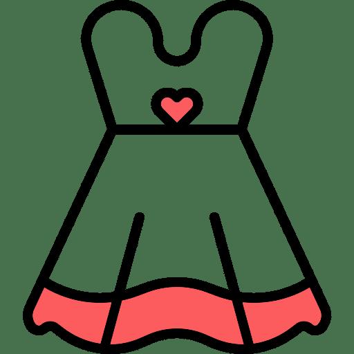 אייקון שמלת כלה