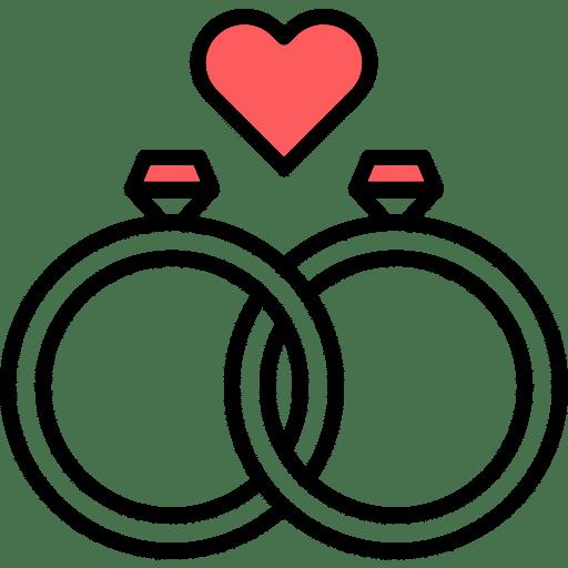 אייקון טבעת נישואין